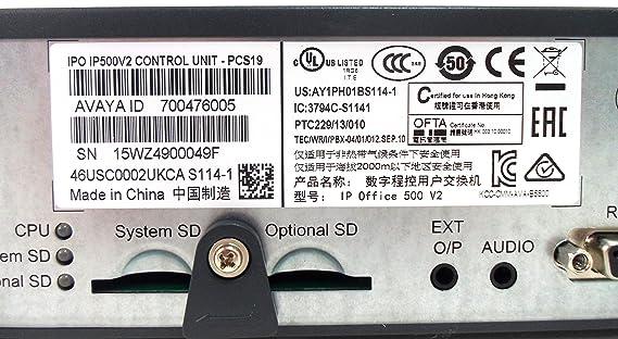 Avaya IP500 V2 Control Unit (700476005)