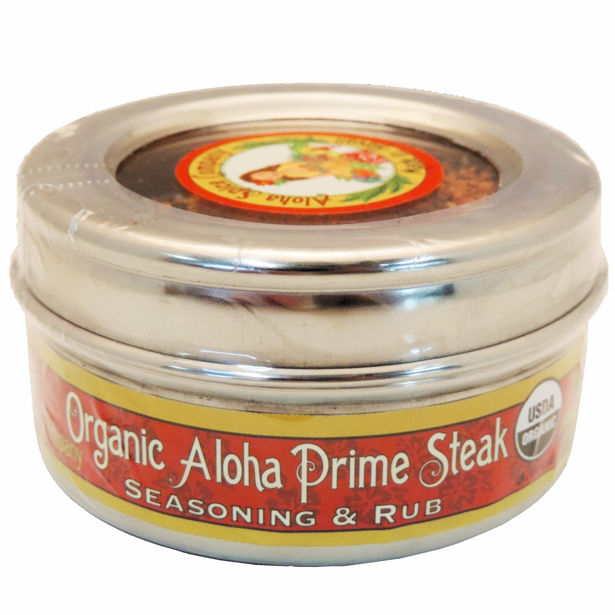 Organic Aloha Prime Steak Seasoning & Rub (2 Pack)