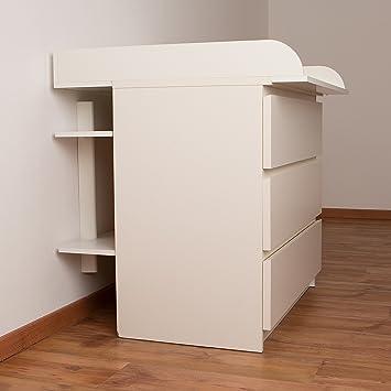Wickelkommode Ikea wandregal regal für wickeltisch passend zum puckdaddy
