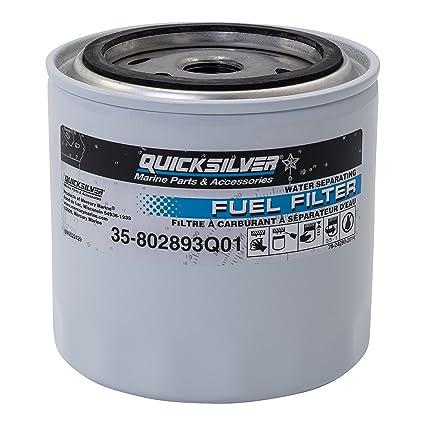 amazon com 802893q01 fuel water separating filter quicksilver Diesel Fuel Filters Separators image unavailable