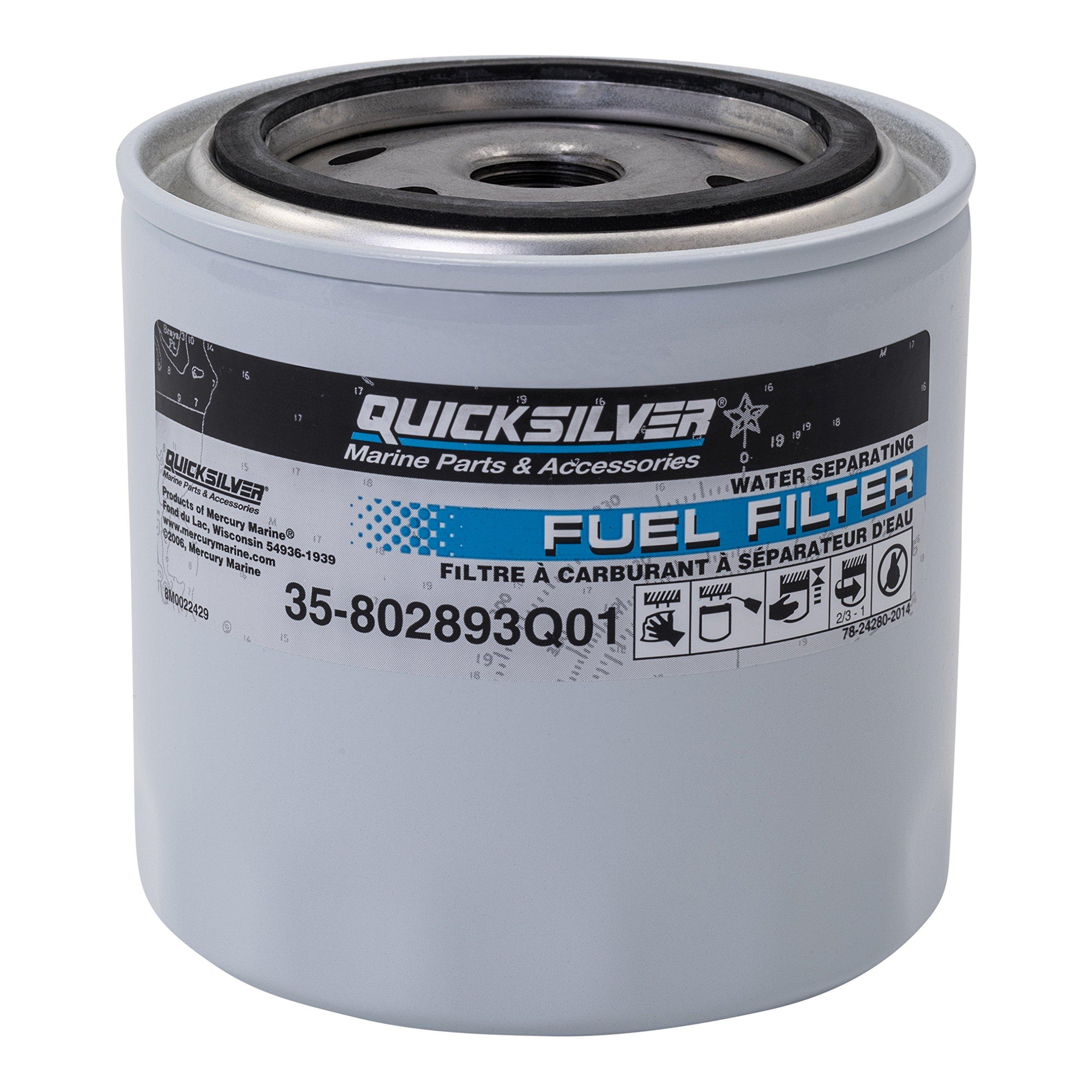 35-802893Q01 Fuel/Water Separating Filter Quicksilver/Mercury