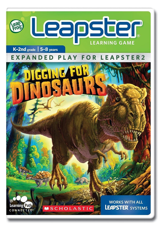 LeapFrog Leapster Game: Graben für Dinosaurier Dinosaurier Dinosaurier 15805d