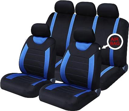Cubierta de asiento negro sin fiat punto 2