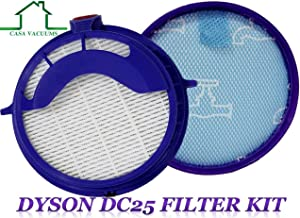 Dyson DC25 Compatible Prefilter and Post Motor HEPA Filter. Fits all DC25 Models - Compare to Part # 919171-02 and 916188-06