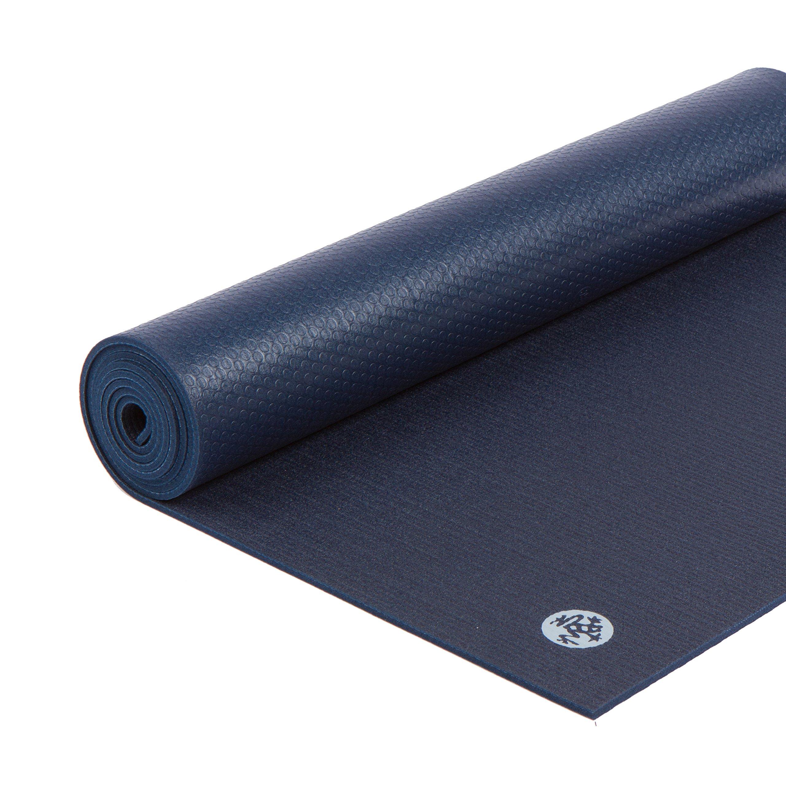 Manduka 112011110 Prolite Yoga and Pilates Mat, Midnight, 79'' by Manduka (Image #1)