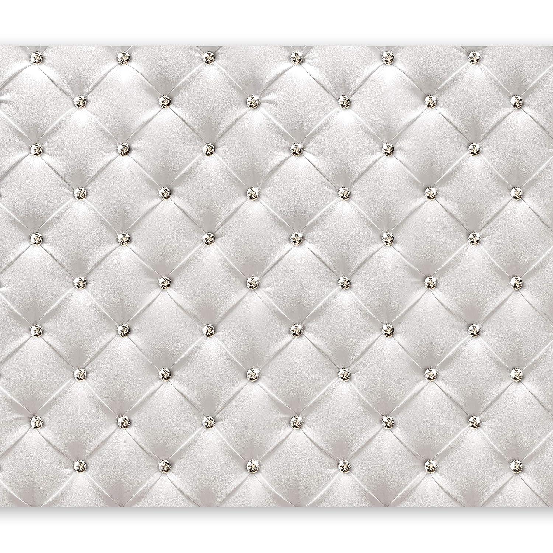 Murando - Fototapete 400x280 400x280 400x280 cm - Vlies Tapete - Moderne Wanddeko - Design Tapete - Wandtapete - Wand Dekoration - Leder weiß modern f-B-0039-a-a B01ENICABG Wandtattoos & Wandbilder 423156