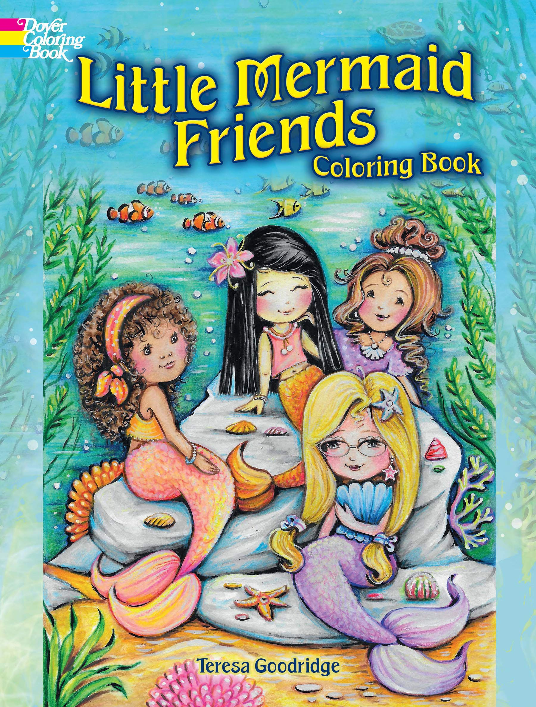 - Little Mermaid Friends Coloring Book (Dover Coloring Books