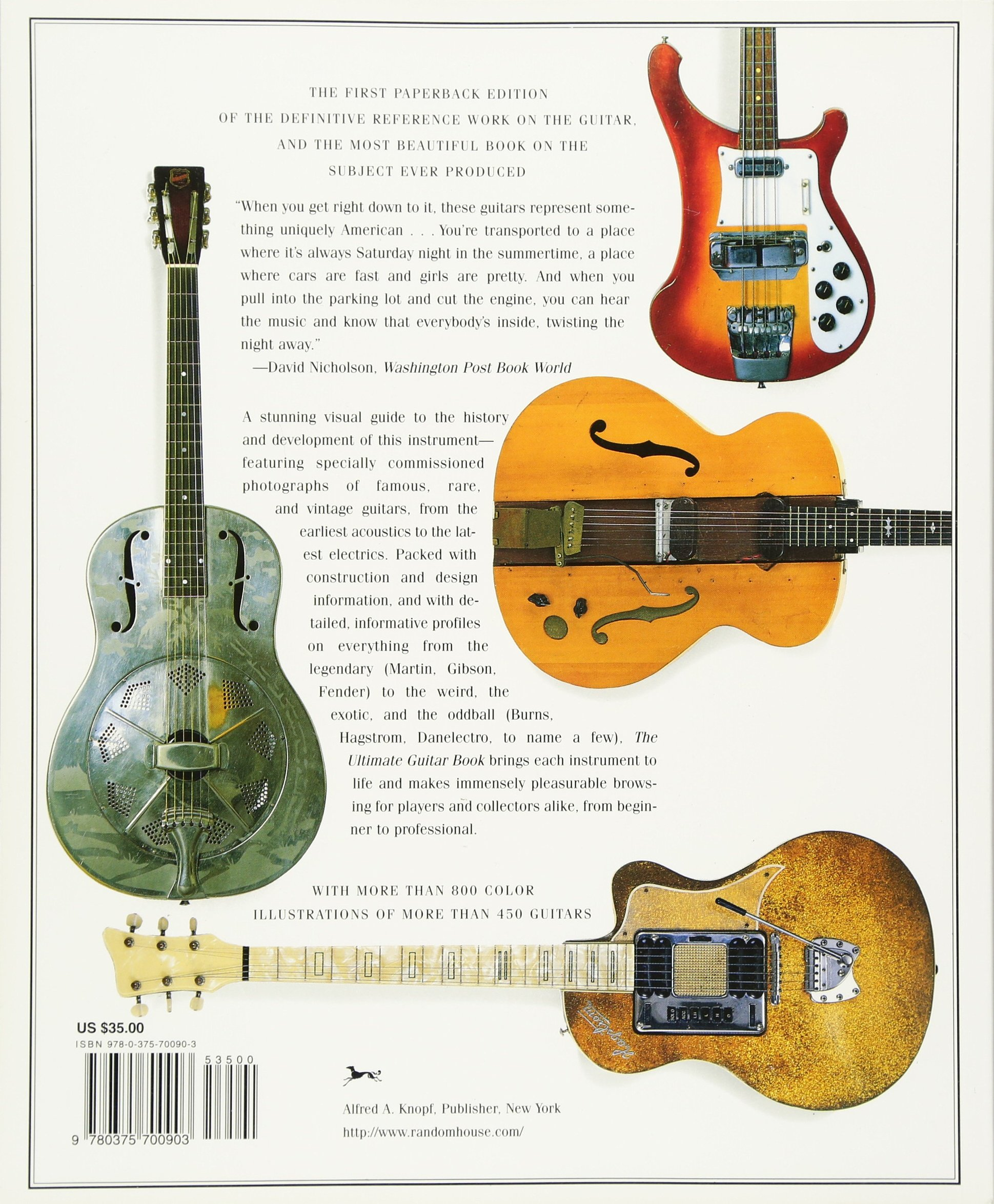 the ultimate guitar book tony bacon