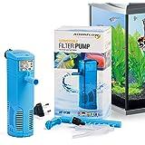 Aquaflow Technology® AIF-013M - Acuario interior filtro de agua dulce o salada acuario