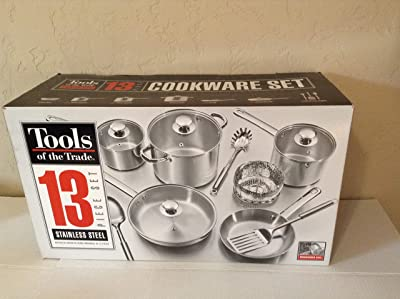 Tools of the Trade Stainless Steel 13-Pc. Cookware Set Review