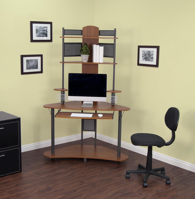 Corner computer desk tower - Corner Computer Desk Tower 6