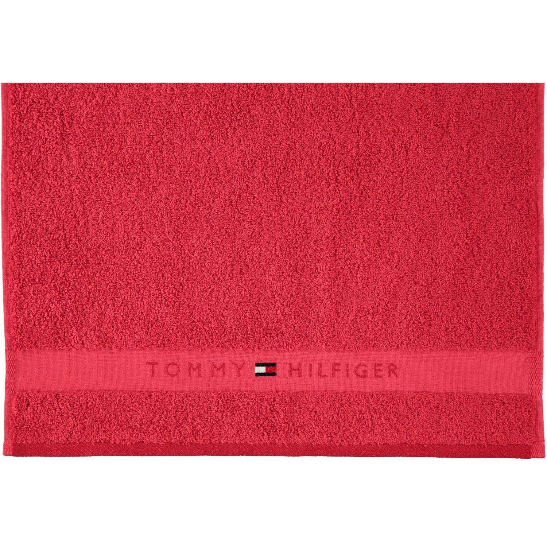 Tommy Hilfiger Esponja Legend huésped 40 X 60 O Toalla 50, Toallas 100% Espuma de Algodón Puro ASCIUGAMANO cm 50 x 100 Red (Rosso): Amazon.es: Hogar