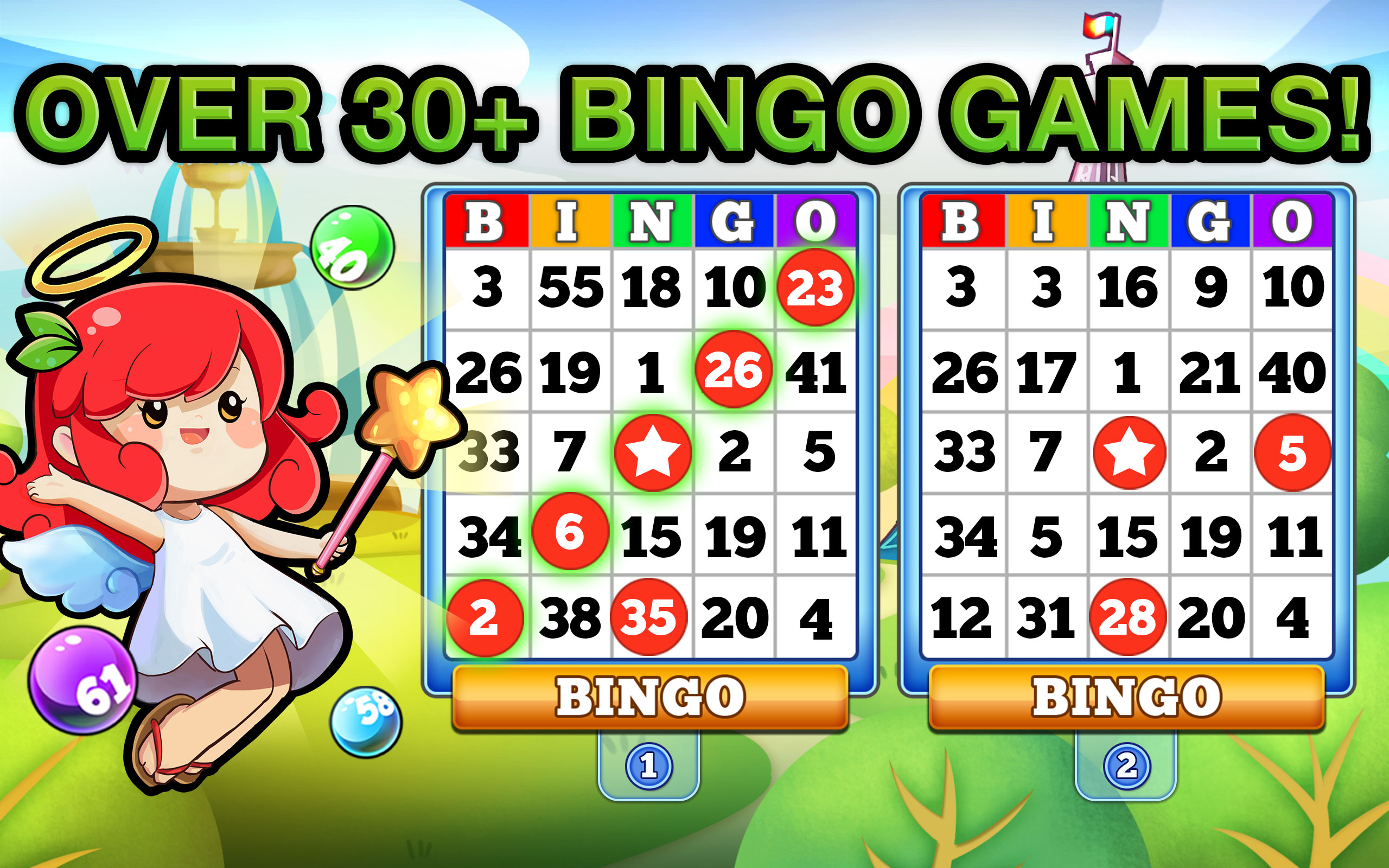 all free bingo games online