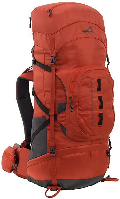 bad7fe3c3ac Amazon.com  ALPS Mountaineering Red Tail Internal Frame Pack, 65 ...
