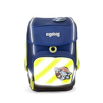 Ergobag Sicherheitsset Schulranzen Pack gelb 3 teilig mit Reflektorstreifen