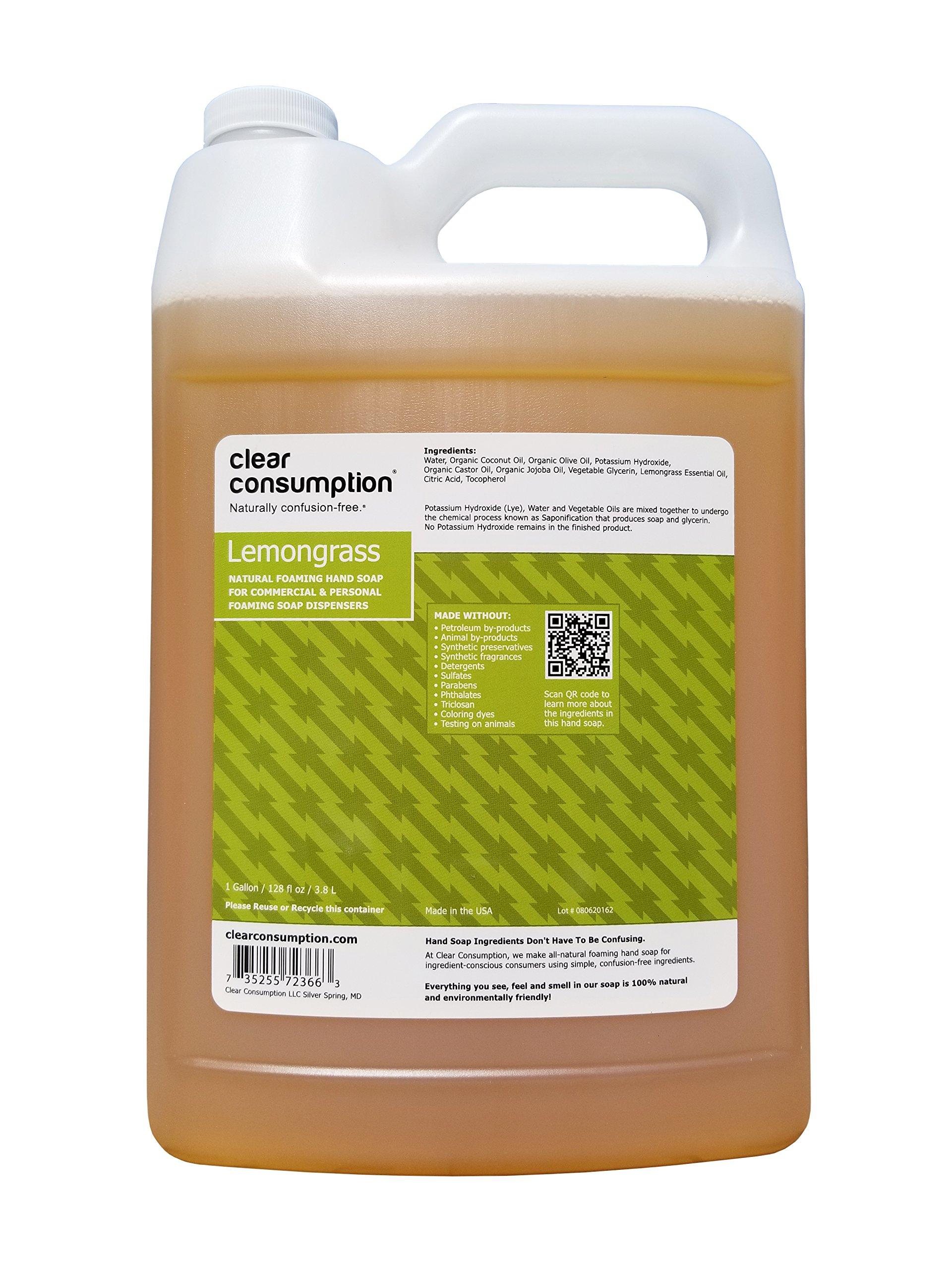 Amazon Com Clear Consumption Natural Lavender Foaming