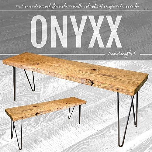 Excellent Amazon Com Reclaimed Ban Wood Bench Handmade Mid Century Lamtechconsult Wood Chair Design Ideas Lamtechconsultcom