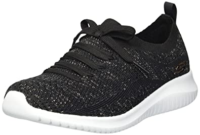 1274e1fe3491 Skechers Women s Ultra Flex-salutations Trainers  Amazon.co.uk ...