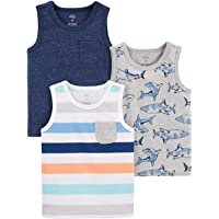 Simple Joys by Carter's 3-Pack Tank Tops Niños, Pack de 3