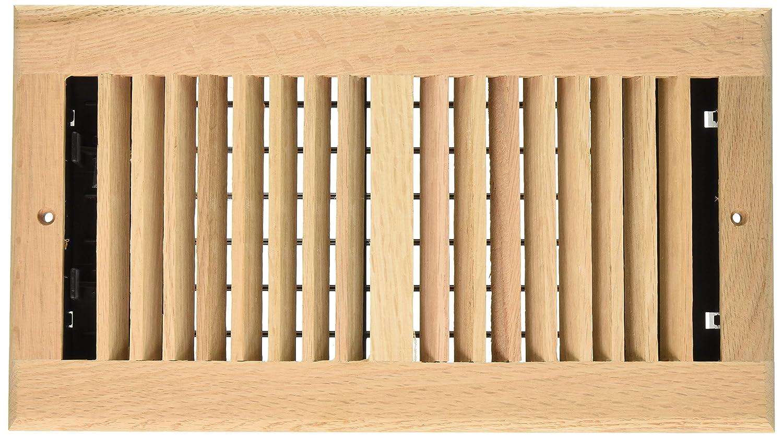 Amazon.com: Decor Grates WL612W-N 6-Inch by 12-Inch Wood Wall ...