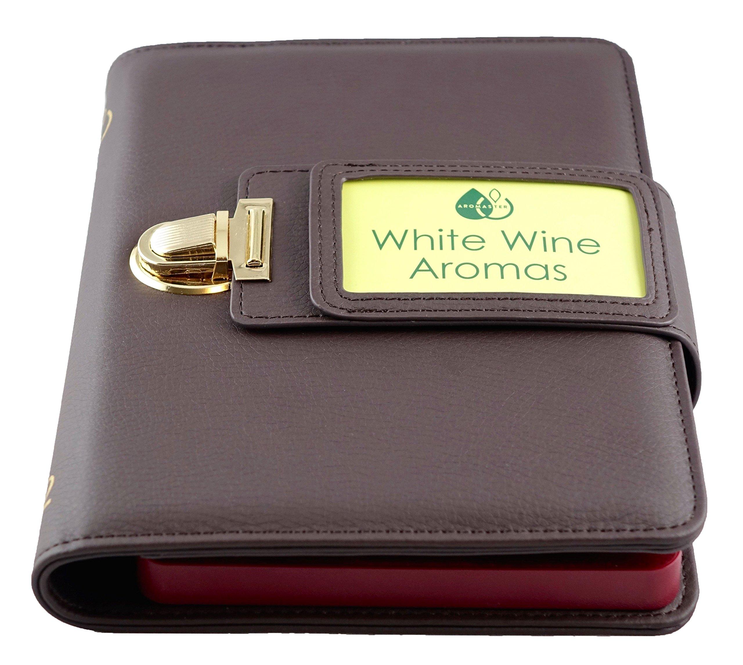 White Wine Aroma Kit - 12 Aromas (incl. Wine Aroma Wheel)