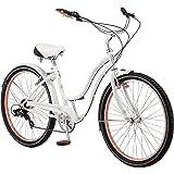 "Schwinn Women's Kalei Cruiser 26"" Wheel Bicycle White, Small Frame Size"