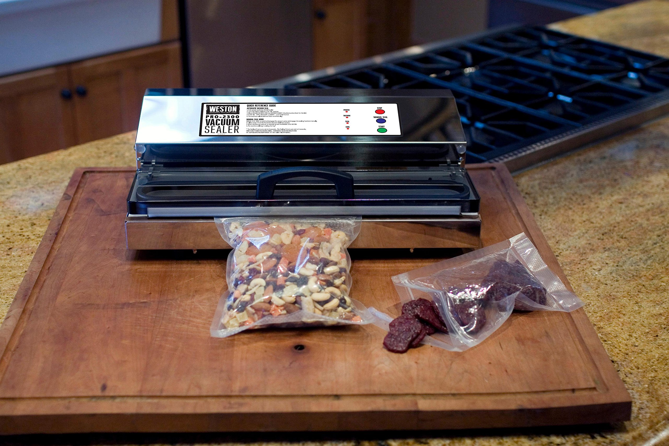 Weston Pro-2300 Commercial Grade Stainless Steel Vacuum Sealer (65-0201), Double Piston Pump by Weston (Image #5)