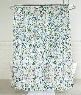 2195bf0d12ce Splash Home 71SIAFL FPMLTSPL Sia Floral Polyester Fabric Shower Curtain
