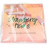 Bomb Cosmetics Strawberry Fields Soap Slice 100g