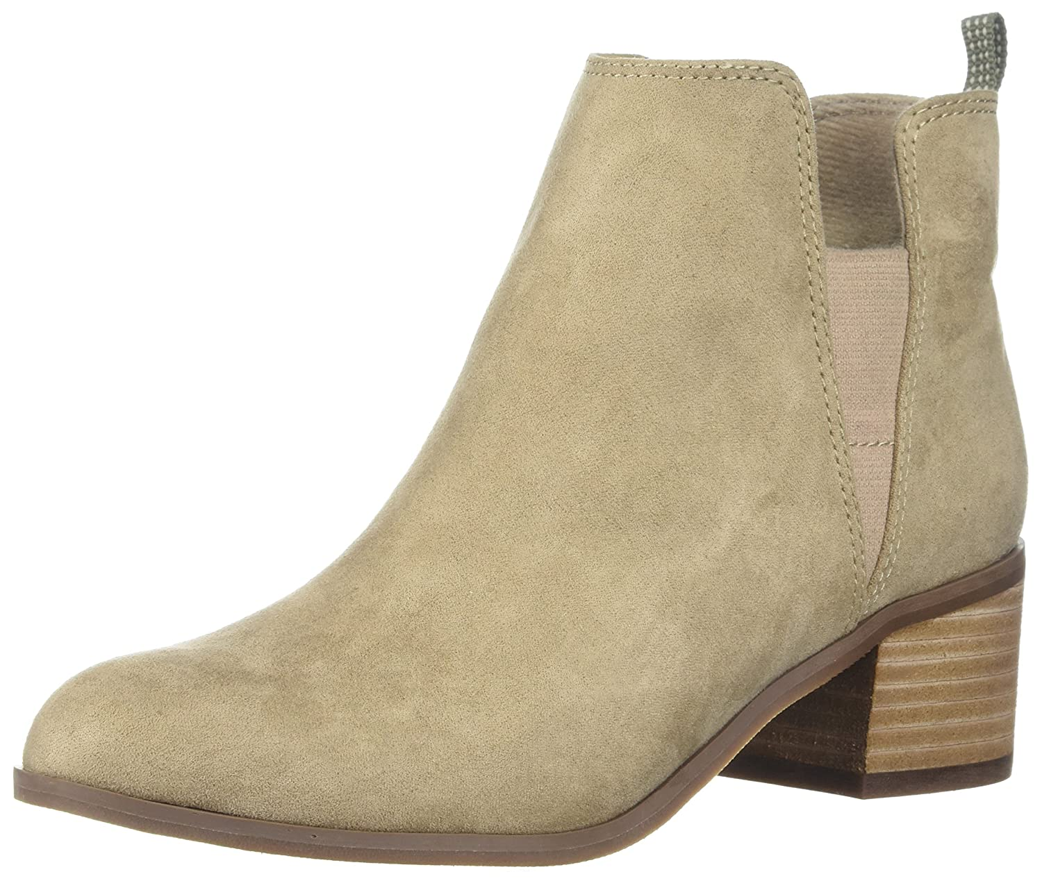 Dr. Scholl's Shoes Women's Addition Ankle Boot B075Y8SPQZ 9.5 B(M) US|Putty Microfiber
