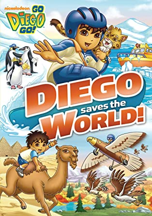 Amazoncom Go Diego Go Diego Saves the World Go Diego Go