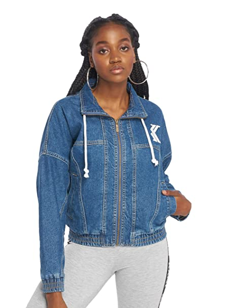 Karl Kani Retro Denim Jacket Blue 6187025: Amazon.es: Ropa y ...