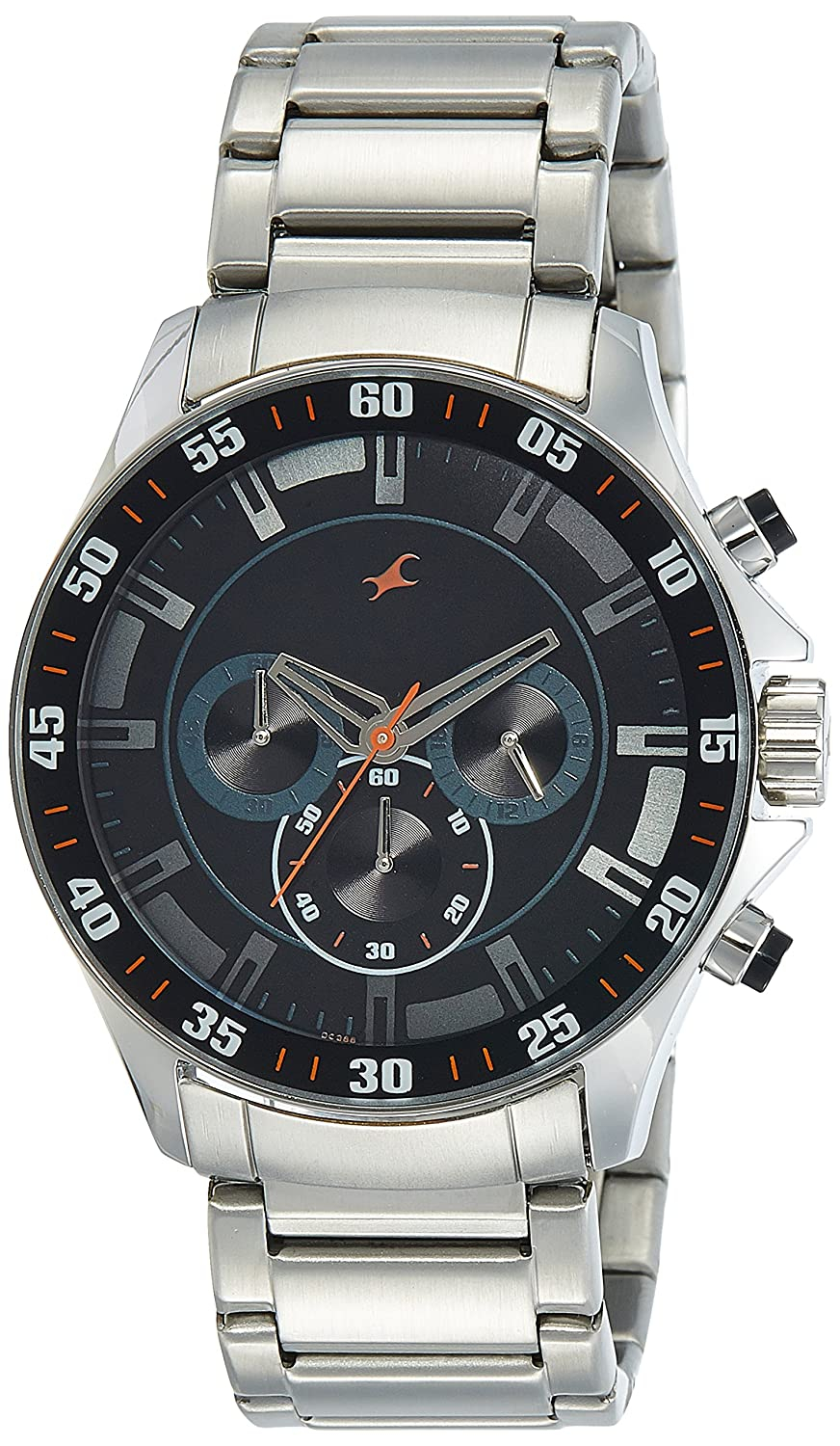Fastrack Analog Black Dial Best Mens Watches Under 5000 in India to buy in 2019 - Reviews & Buyers Guide