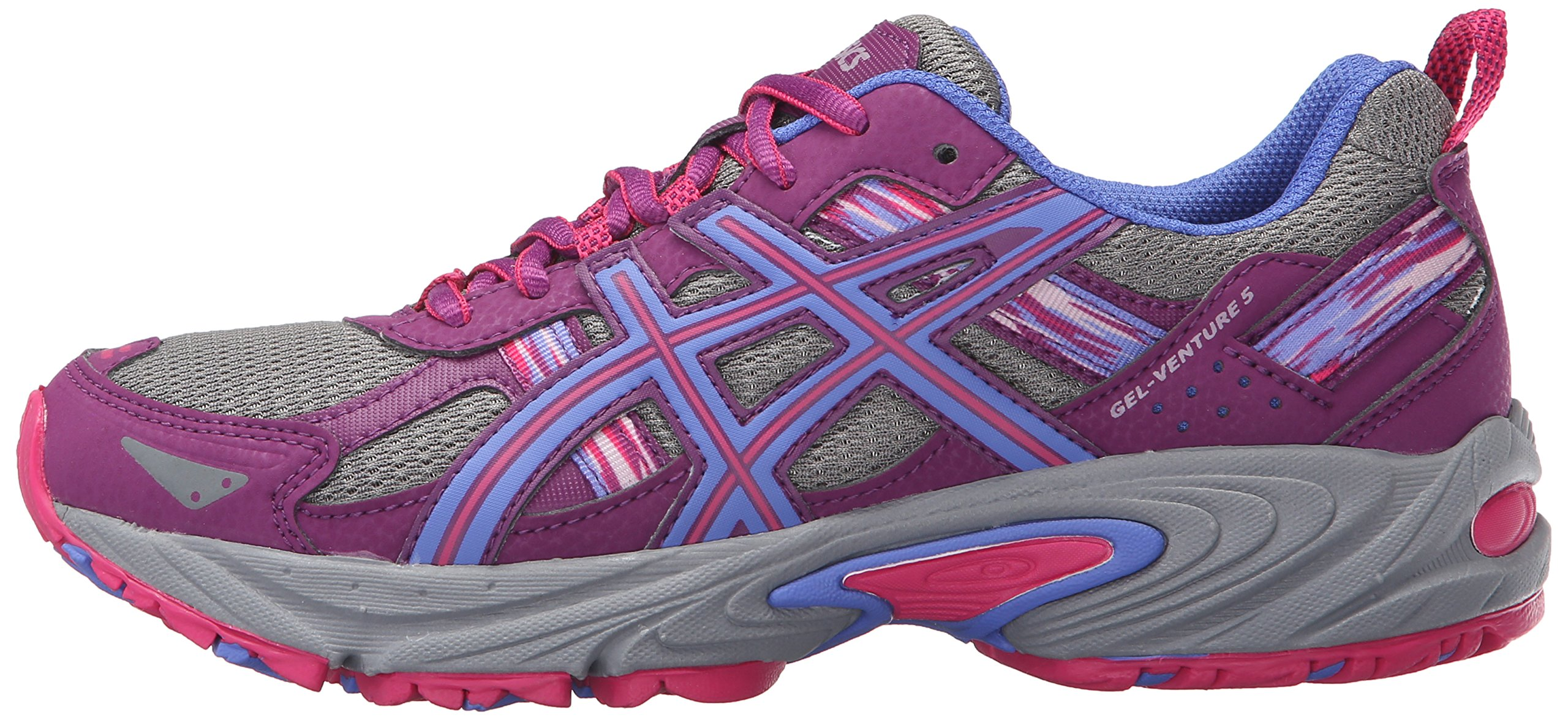 ASICS Women's Gel-Venture 5 Trail Runner, Phlox/Sport Pink/Aluminum, 6 M US by ASICS (Image #5)