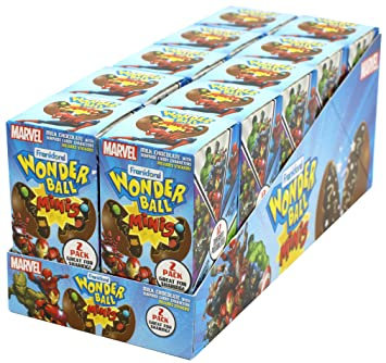Amazon Com Frankford Candy Company Wonder Ball Mini Marvel