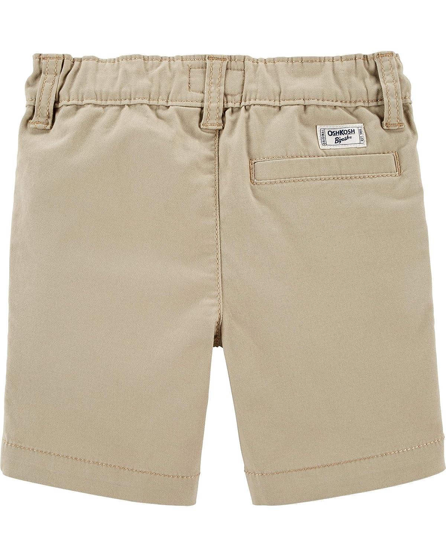 OshKosh BGosh Boys Toddler Stretch Flat Front Short