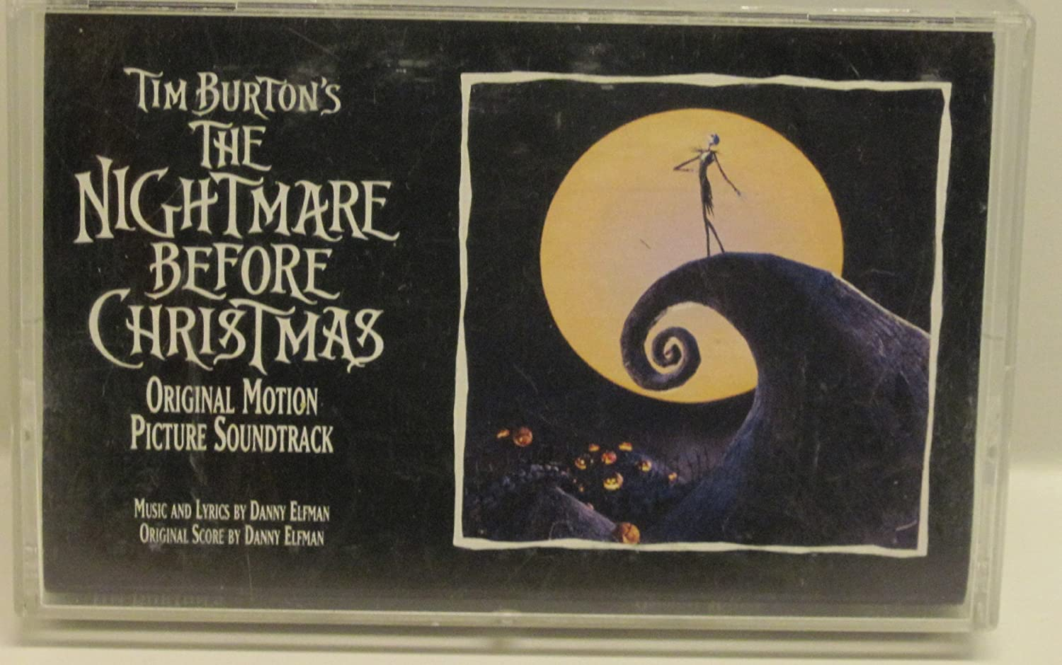 Nightmare Before Christmas [CASSETTE]: Amazon.co.uk: Music