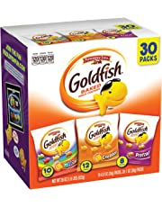 Pepperidge Farm, Goldfish, Crackers, Classic Mix, 29 oz, Variety Pack, Box, Snack Packs, Pack Of 30