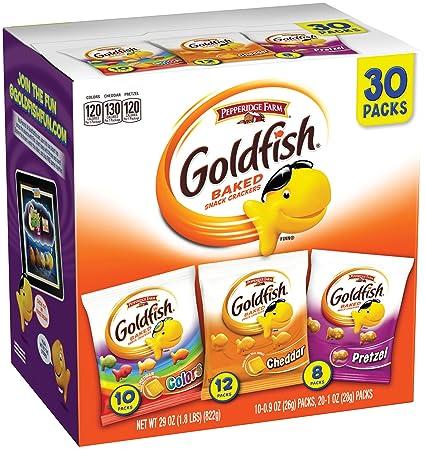"""Bolsas de """"Goldfish"""" de Pepperidge Farm, sabores ..."""