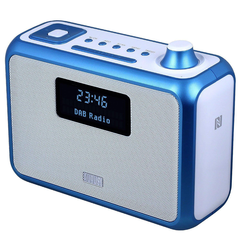 DAB+ Clock Radio Bluetooth Speaker - August MB400: Amazon.co.uk ...