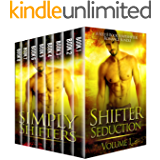 Shifter Seduction - A Sexy 8 Book Shapeshifter Romance Bundle (Simply Shifters Box Sets 1)