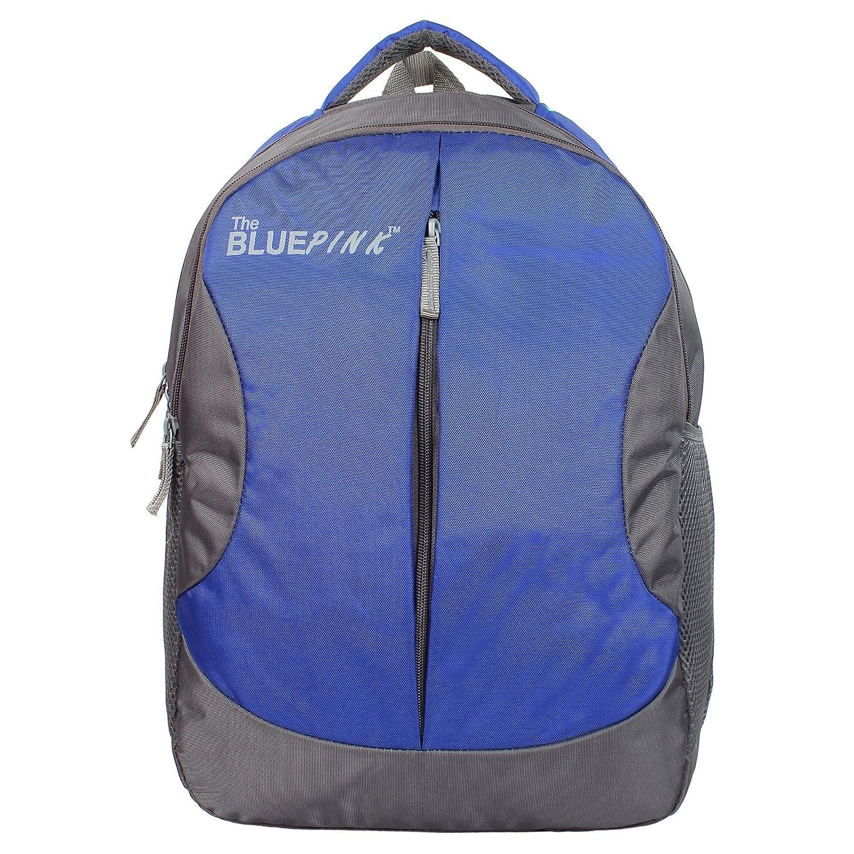 Dussledorf Leonardo 22 Liters Blue and Grey Laptop Backpack (LEO-0718)