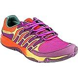 Merrell Women's All Out Fuse Trail Running Shoe,Purple/Orange