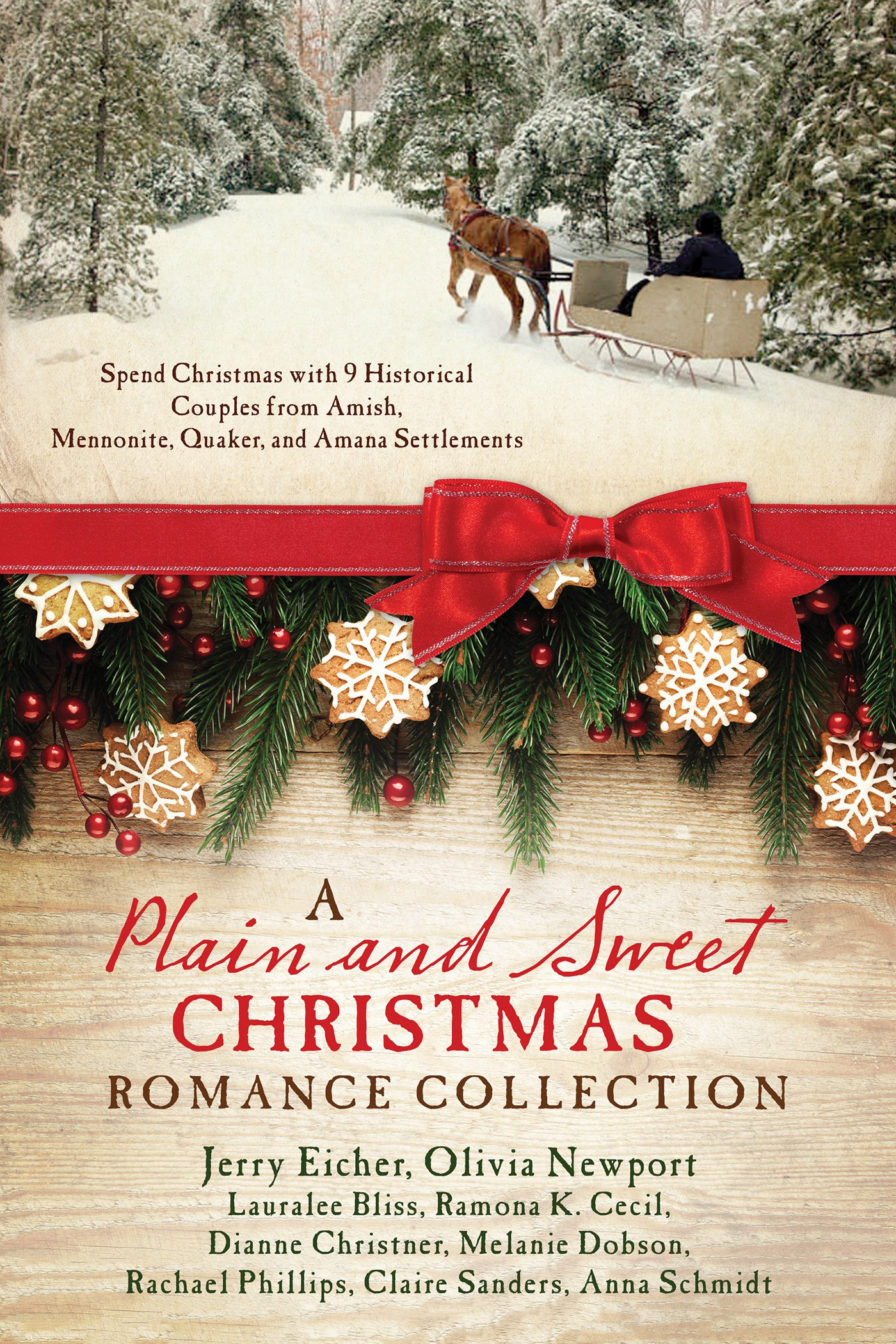 A Plain and Sweet Christmas Romance Collection: Spend Christmas with ...