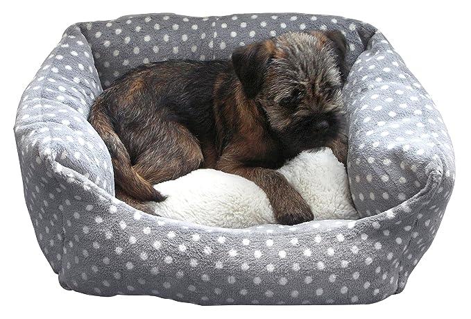 40 Winks Rosewood Pequeño perro/gato para dormir cama, 40,6 cm,