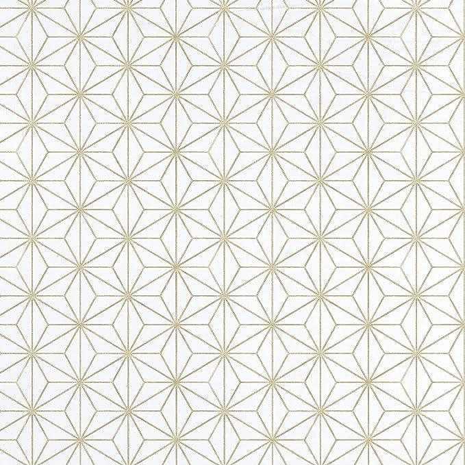 17946 Equipo DRT Encadenados Papier peint g/éom/étrique Motif /étoiles