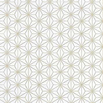 Equipo Drt Encadenados Papier Peint Geometrique Motif Etoiles 17949
