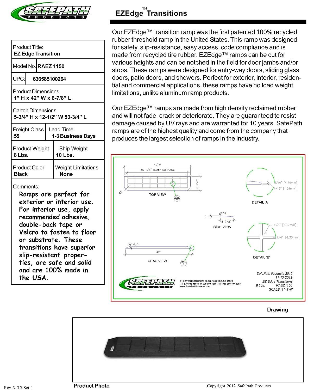 SafePath Products RAEZ0110 EZEdge 7/8