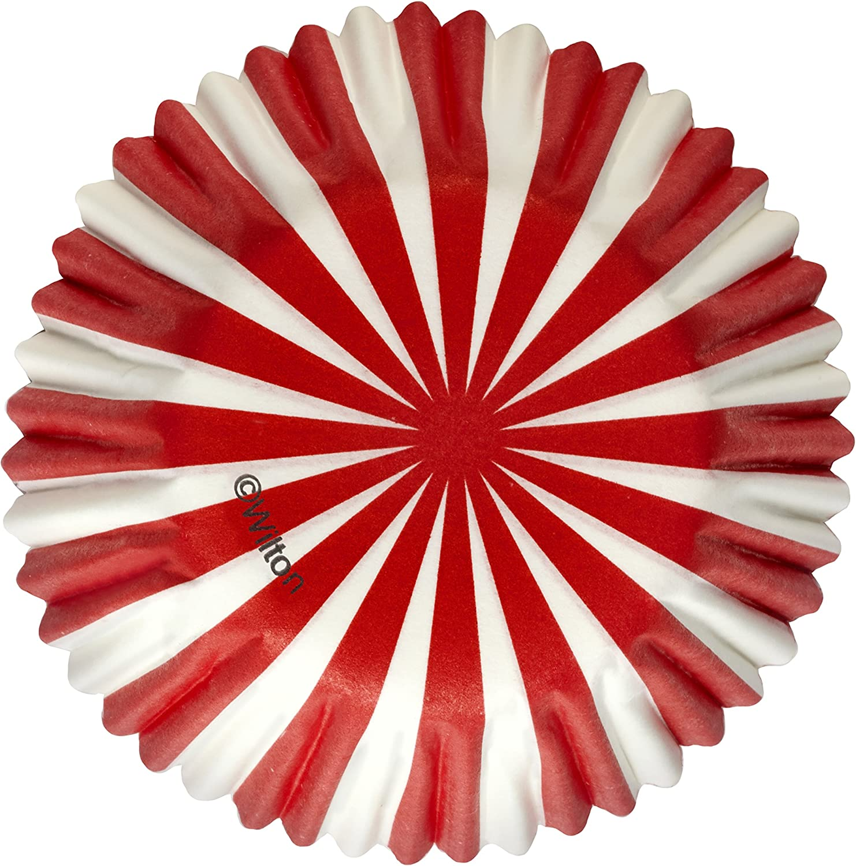 Mini Baking Cups-North Pole 100//Pkg
