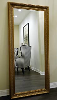 Amazon.com: Extra Large Dark Gold Wall Floor Mirror FULL LENGTH ...